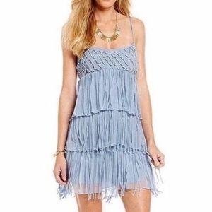 NWT Chelsea & Violet Boho Fringe Dress